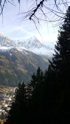 Chamonix Mont Blanc, Spa, Mount Rainier, Concept, Mountains, Nature, Travel, Naturaleza, Viajes