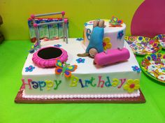 Images Of Pin Gymnastics Birthday Cake On Pinterest Wallpaper cakepins.com