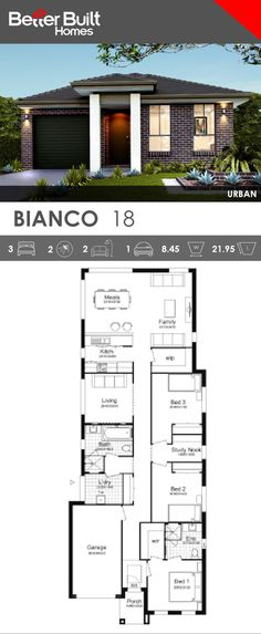 Single Storey House Design, The Bianco 18