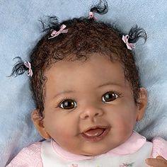 Reborn baby girl .... Silicone vinyl ..... Modern ....