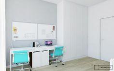 apartament w Warszawie : styl , w kategorii Pokój dziecięcy zaprojektowany przez Twój Kwadrat