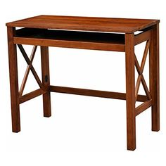 Casual Home Montego Folding Desk with Pull-Out Tray