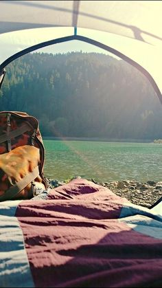 Waking up every morning looking out a tent door or a cabin window is something to look forward to!