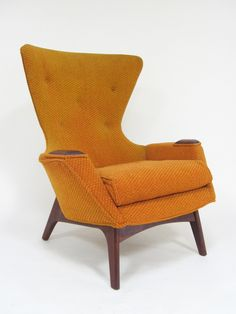 adrian pearsall wingback easy chair by craft associates 7