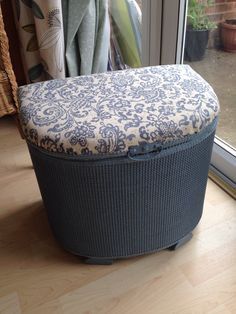 Lloyd Loom Laundry Basket given a new lease of life