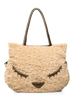 Lovely Face Faux Fur Shoulder Bag OASAP.com $78.00