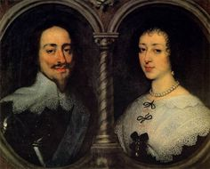 Charles I of England and Henrietta Maria of France