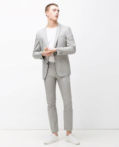Image 1 of SOFT SHEEN SUIT from Zara