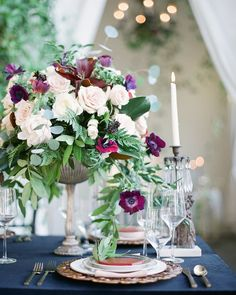 Dark and romantic meets elegant and vintage in this gorgeous Midnight Garden wedding inspiration. (Venue: @villaandvine Design Coordination Floral Artistry: @burlapandbordeaux Photography: @stevenleyvaphoto Vintage Furniture Rentals & Styling:@mylovelyevents  @remii3 Tabletop & Chair Rentals: @venturarental Linens: @dreamsamerica Model: #RemingtonCarillo Bridal Top: Private Collection Bridal Skirt: #ChristianneTaylor Jewelry: @c2ccollectionsb Hair & Makeup: @larouge_artistry Hand Lettering…