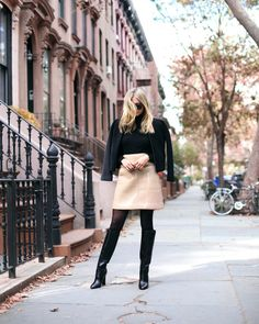 TFW you realize you'll never buy designer clothes at retail again. This outfit: $2,000+ retail or $740 our price.  Jacket: Charlie May $885 retail, $330 our price  Skirt: @JilSanderPR $450 retail, $140 our price Boots: DVF $675 retail, $270 our price