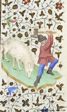 Book of Hours, MS M.453 fol. 12r - Images from Medieval and Renaissance Manuscripts - The Morgan Library & Museum