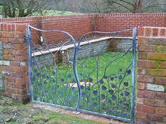 Very pretty double gate by Dave Preston in England