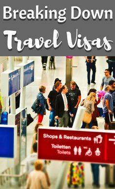 Planning a trip can be an exciting time - the travel visa part is often not as fun. We're trying to help you understand the world of travel visas a bit better. #travel #traveltips #tripplanning #travelvisa