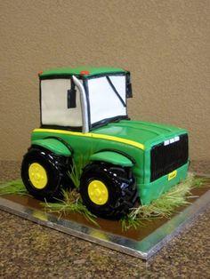 John Deere Tractor Cake. Google Image Result for http://www.elegantcakery.com/images%252FCakes%252F1JohnDeere.JPG
