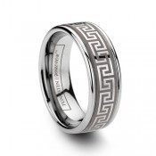 cool design - Durable Wedding Bands from TungstenWorld.com