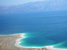 Dead Sea, Israel - Along Highway 90, north of Ein Gedi #travel #Israel #DeadSea (ים המלח, ישראל)