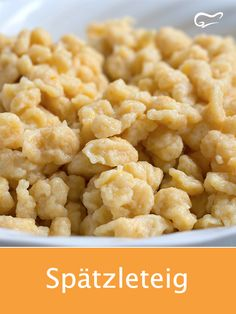 Spätzle are quickly prepared and can be served as a side dish or main course. # spaetzle dish Spätzle are quickly prepared and can be served as a side dish or main course. Fish Recipes, Vegetarian Recipes, Quick Recipes, Lacto Vegetarian Diet, Main Dishes, Side Dishes, Paleo Meal Plan, Croatian Recipes, German Recipes
