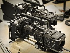 SONY NEX-fs700 super 35mm caamera Vlogging Equipment, Camera Equipment, Camera Rig, Camera Gear, Digital Cinema, Magic Design, Cinema Camera, Film Making, The Best Films