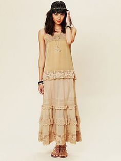 Tiered Lace Candy Dress  http://www.freepeople.com/whats-new/tiered-lace-candy-dress/