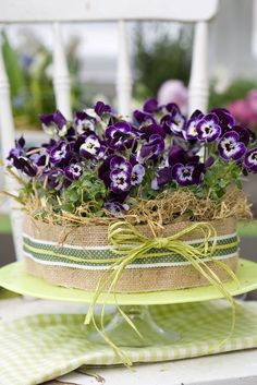 12 simply beautiful spring flowers that put ideas together Deco Floral, Floral Cake, Arte Floral, Simply Beautiful, Beautiful Flowers, Unique Mothers Day Gifts, Pansies, Spring Flowers, Backyard Landscaping