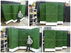 PermaLeaf® Boxwood Hedge Wall Privacy Screen