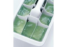 Soothe the Burn - Time Saving Tricks for Busy Mamas - Freeze Aloe Vera in ice-cube trays for easy sunburn relief. Well, more like snow-burn at this time of year (if you've ever gotten a sunburn after skiing or playing in the snow all day, you know what I mean!).