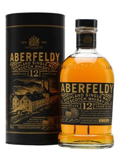 A fruity, clean and polished malt with a touch of honey and spice, Aberfeldy 12 Year Old is an excellent introduction to this Highland distillery. Aberfeldy's main claim to fame is as the heart of ...