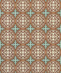 Joel Dewberry Scrollwork Carmel Fabric