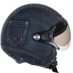 Le must en denim…  #helmett, #denim, #pocket, #fashion