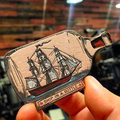 tarjeta-letterpress-barco