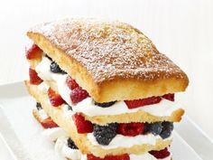 Shortcake royale from  Food Network Magazine, April 2011