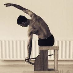 "pilates""A man is as young as his spinal column. Pilates Plus, Pilates For Men, Pilates Moves, Pilates Body, Pilates Reformer, Pilates Workout, Exercise, Workout Tips, Joseph Pilates"