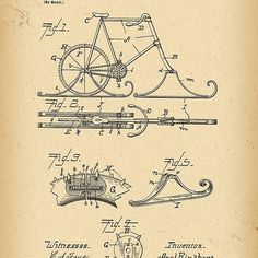 1898 Patent Bicycle
