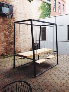 I want this for my backyard an Adult Swingset table