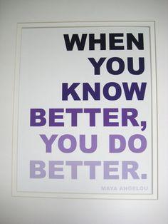 Maya Angelou quote print