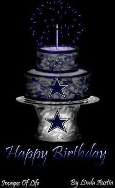 Dallas Cowboys Happy Birthday Day Cake Images