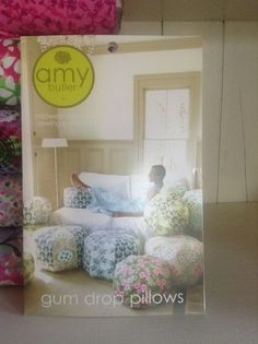Amy Butler Pattern for Gum Drop Pillows – Quilt Store Next Door Gum Drop, Amy Butler, Next Door, Toddler Bed, Sew, Quilts, Pillows, Store, Fabric