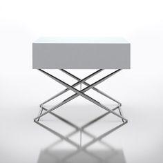 Sandhurst Nightstand White, 245€, now featured on Fab.
