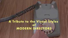 'Directors' Cuts', A Short Film Edited in the Style of Five Iconic Directors Using Only Stock Footage