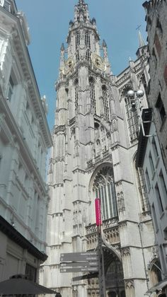 Antwerp (Belgium): Cathedral of our Lady.
