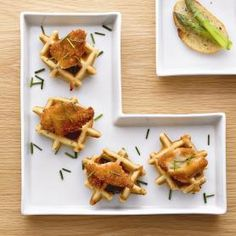 in the loop - Home - recipe: chicken and waffle bites