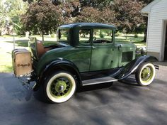 1930 Ford Model A Deluxe Rumble  Seat Coupe..Re-pin..Brought to you by #HouseInsurance #EugeneOregon Insurance for #cars old and new.