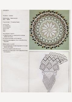 Doilies (Kenneth Moir) Afrikaans & English Crochet Doily Diagram, Crochet Doily Patterns, Crochet Mandala, Bead Crochet, Crochet Doilies, Crochet Stitches, Stitch Patterns, Star Wars, Lace Knitting