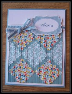 Welcome quilt by TrishG - Cards and Paper Crafts at Splitcoaststampers