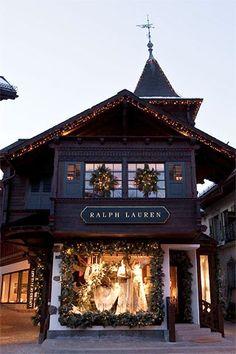 Ralph Lauren new Gstaad store Switzerland (Vogue.co.uk)