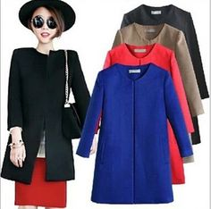 Cheap shipping horses, Buy Quality shipping wiki directly from China shipping boxes for frozen food Suppliers:                    Women Wool Coat Fashion Elegant Slim Cardigan Worsted Woollen Coat Color Black Blue Red Khaki Size S