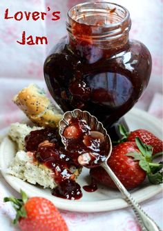 Easy recipe for Lover's Jam that is sugar free too and packed with all the famous aphrodisiac fruits and spices used down the ages to attract a mate.