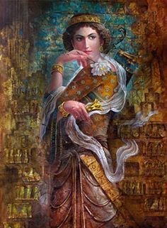 "Empress Purandokht was the twenty-sixth Sassanid monarch of Persia, reigning from 629 to The name ""Puran-dokht"" means: ""Beautiful-girl. Ancient Persian, Ancient Art, Ancient Beauty, Persian Warrior, Sassanid, The Bible Movie, Achaemenid, Art Asiatique, Persian Culture"