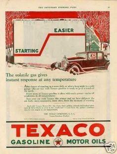 Texaco motor oils
