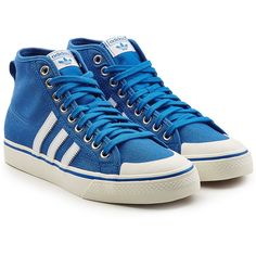 846ee60a4e8dc1 Adidas Originals High-Top Canvas Sneakers (6